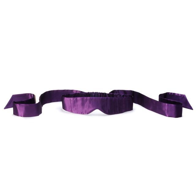 瑞典LELO茵缇玛丝绸眼罩紫色