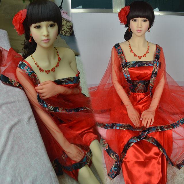 最新款高端158cm实体娃娃(阴交、肛交、口交)男用自慰非充气硅胶实体娃娃