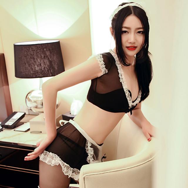 制服诱惑情趣套装新款升级女仆装