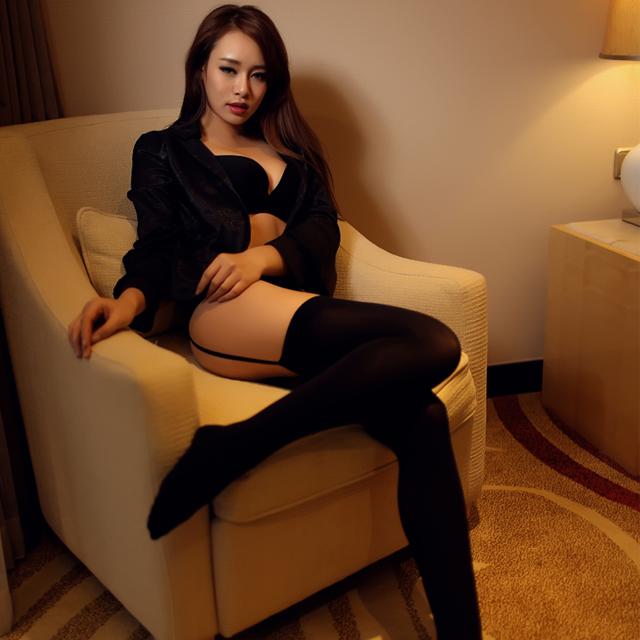 Selebritee黑丝一体式吊带袜 美腿制服诱惑情趣内衣欧美丝袜