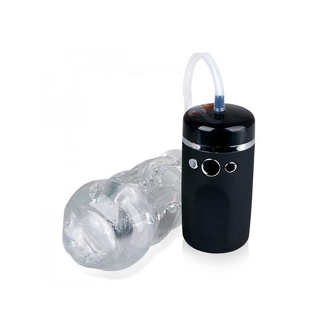 罗格电动抽吸震动飞机杯 口交神器男用自慰杯