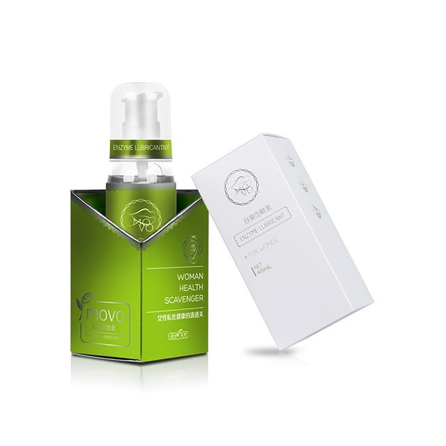 美国MOVO 舒爽型酵素润滑液45ML 女用润滑液人体润滑油私处护理