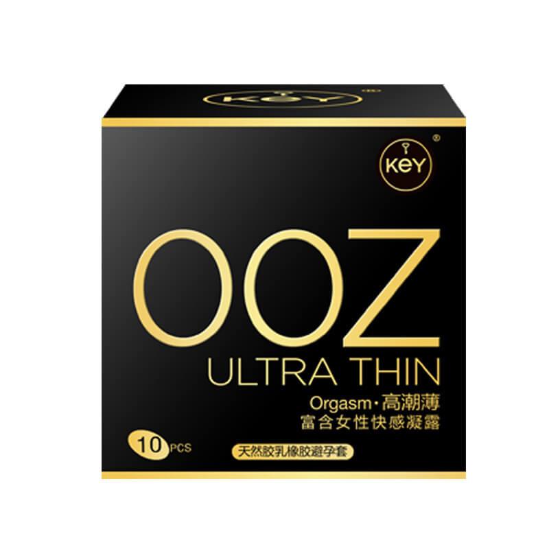 美国KeY OOZ 高潮薄避孕套女性快感增强高潮安全套